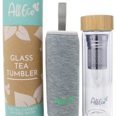 AllEco Teebereiter To-Go, Teekanne, Teeflasche